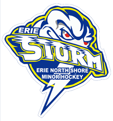 Logo for Erie Northshore Minor Hockey